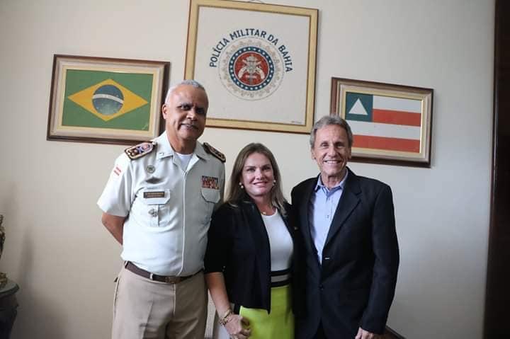 Ações para melhoria na segurança de Dom Basílio são debatidas no Comando-Geral