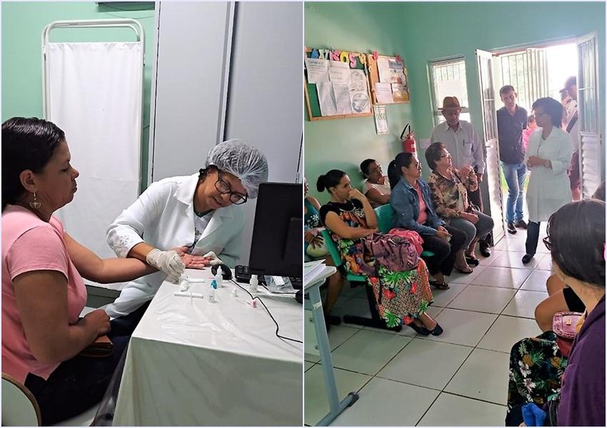 Julho Amarelo:  Unidade Básica da Família de Livramento realiza teste de hepatites B e C e de HIV gratuito