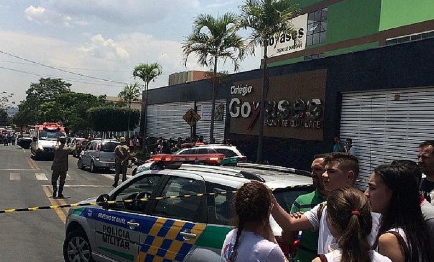 Adolescente filho de PM mata ao menos 2 e fere 4 alunos em escola particular de Goiânia