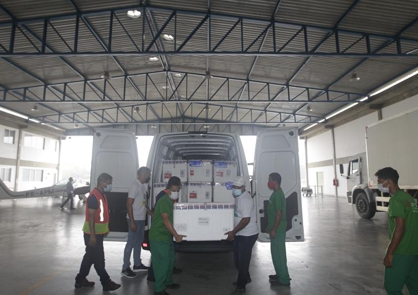 Bahia receberá 172.950 doses de vacinas contra Covid-19