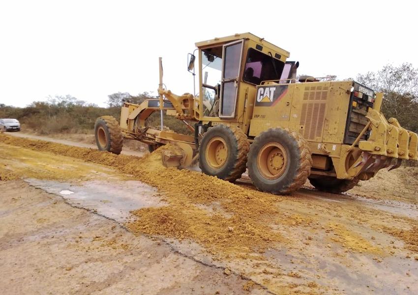 Obras de recuperação da BA-148 estão chegando ao município de Abaíra