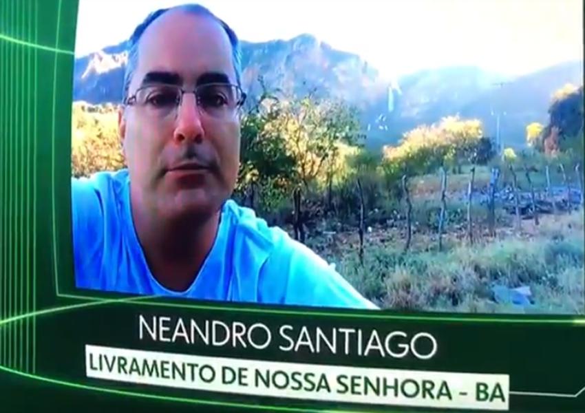 Gerente dos correios de Livramento foi destaque no  quadro 'O Brasil que eu quero' do Jornal Nacional