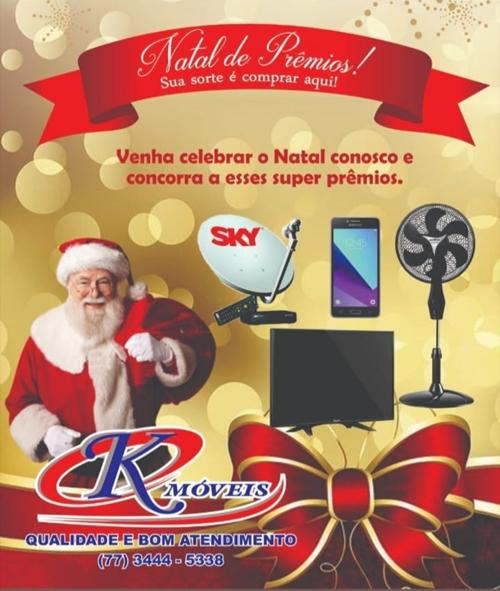 Loja K Móveis é eleita a melhor loja no setor de Móveis e Eletrodoméstico e lança duas super promoções de fim de ano