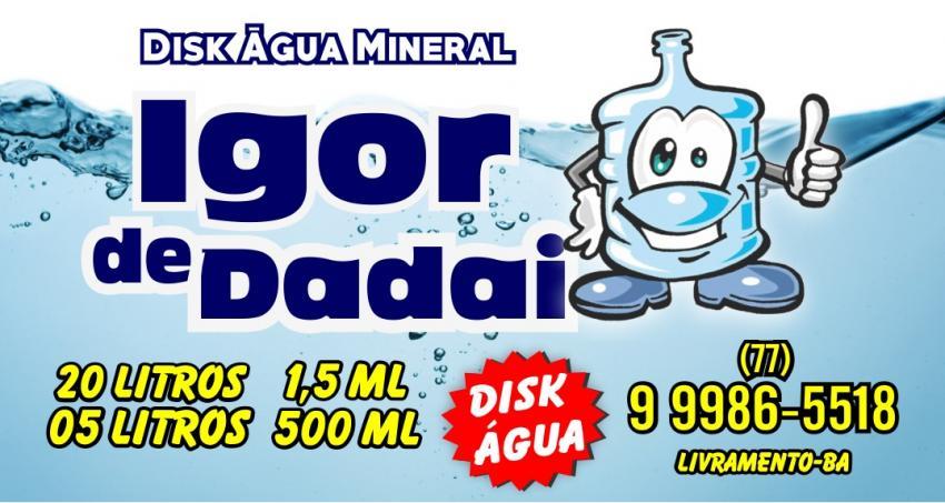 Disk Água Mineral Igor de Dadai
