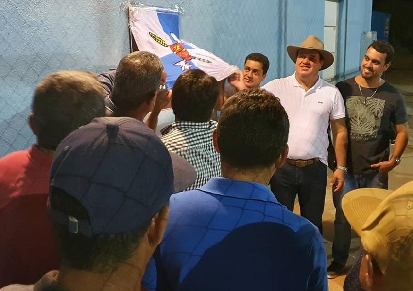 Deputado Marquinho Viana cumpriu intensa agenda no final de semana no interior do estado