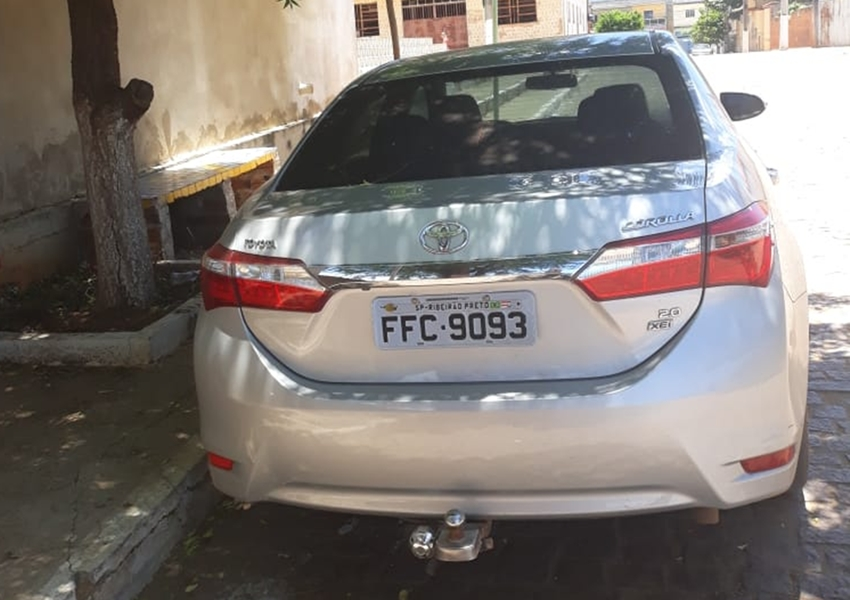 Veículo roubado em cidade paulista é apreendido em Livramento
