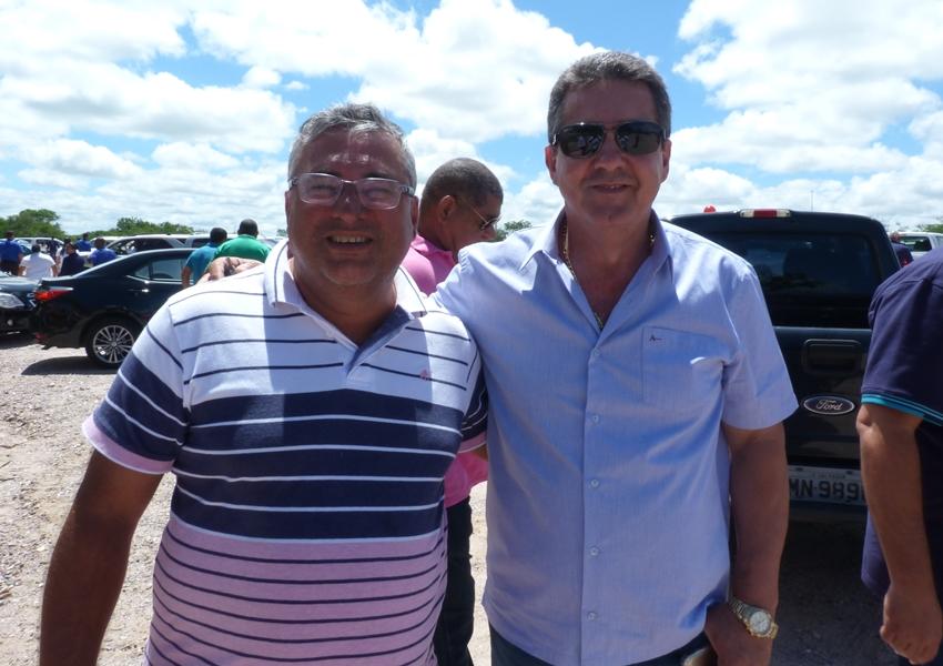 Deputado Estadual Luciano Ribeiro recebe apoio em Livramento para reeleição