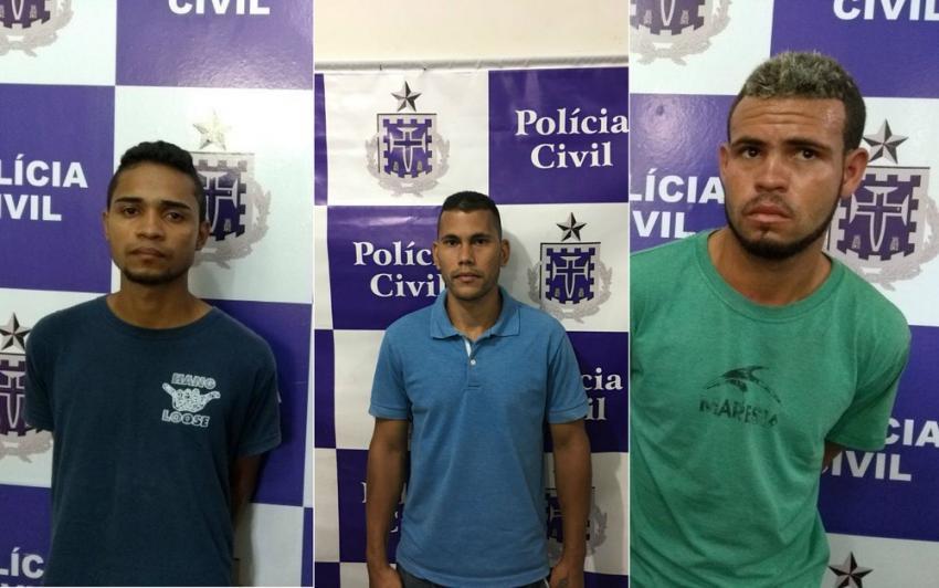 Três homens são presos acusados de participar do roubo a fórum de Itapetinga