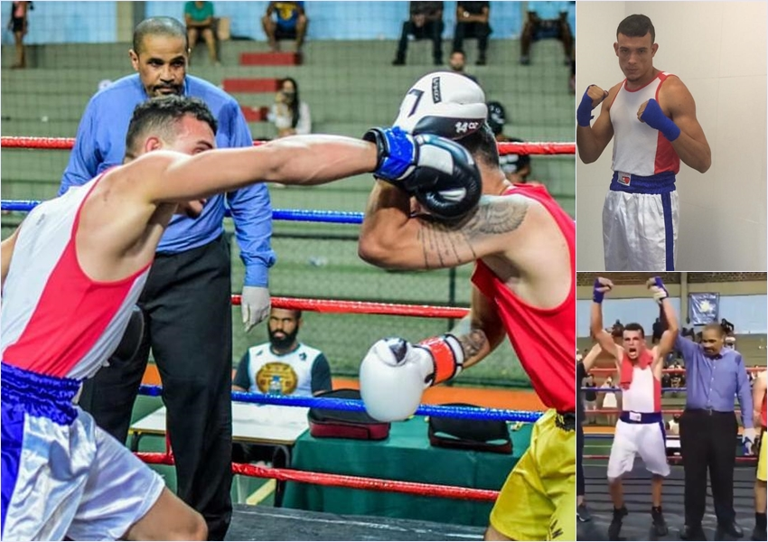 Livramentense Ron Silva é campeão no Campeonato Mineiro de Boxe; a luta aconteceu em Belo Horizonte