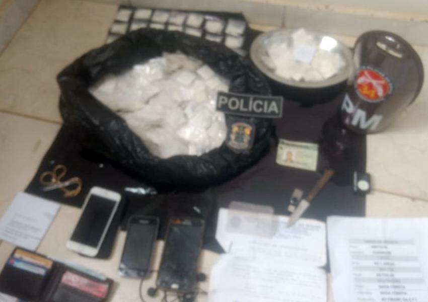 Homem que transportava cocaína em ônibus interestadual é preso em Maetinga