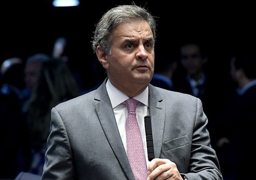 Justiça determina bloqueio de R$ 128 milhões de Aécio Neves
