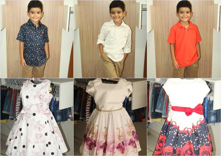Loja Rosa Linda Modas acaba de receber grandes novidades da coleção infanto juvenil; venha conferir