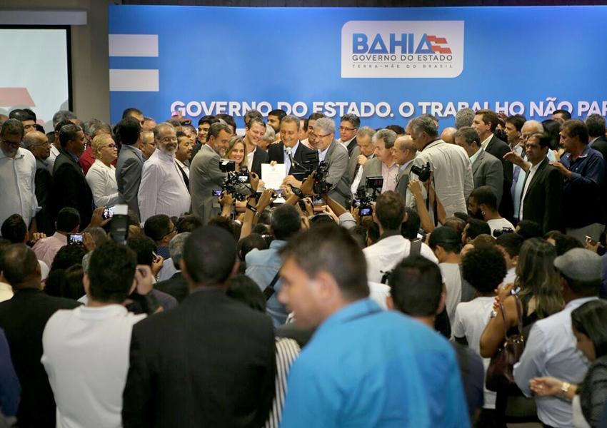 Governo celebra R$ 58 milhões em convênios com 106 municípios