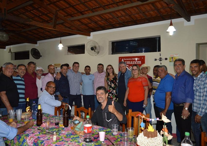 Deputados visitaram Livramento no São João