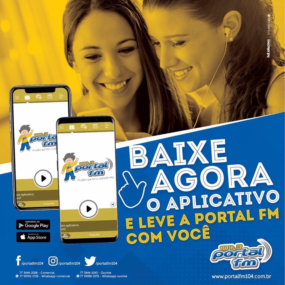 Baixe agora o aplicativo da Portal FM