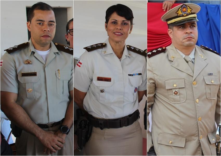 Livramento: Oficiais da 46ª CIPM foram promovidos pelo Governador do Estado