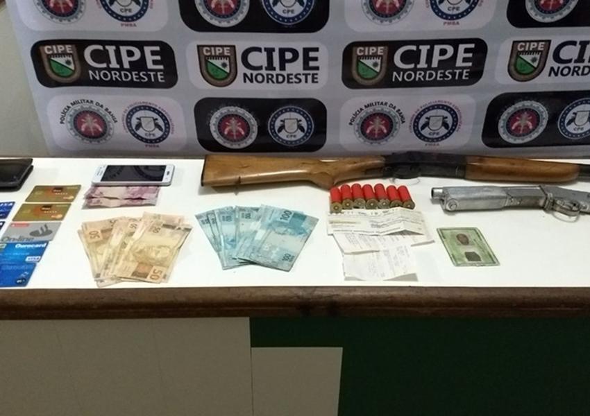 Suspeito de roubar gados na Bahia é localizado e oferece R$ 10 para não ser preso