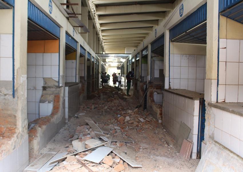 Livramento: Prefeitura inicia reforma do Mercado Municipal