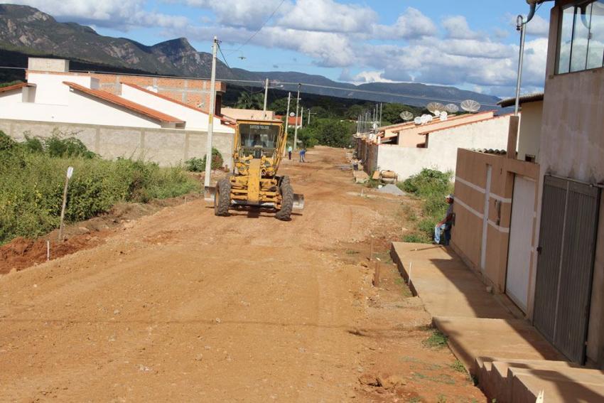 Livramento: Pavimentação das ruas do Bairro Belo Horizonte tiveram inicio