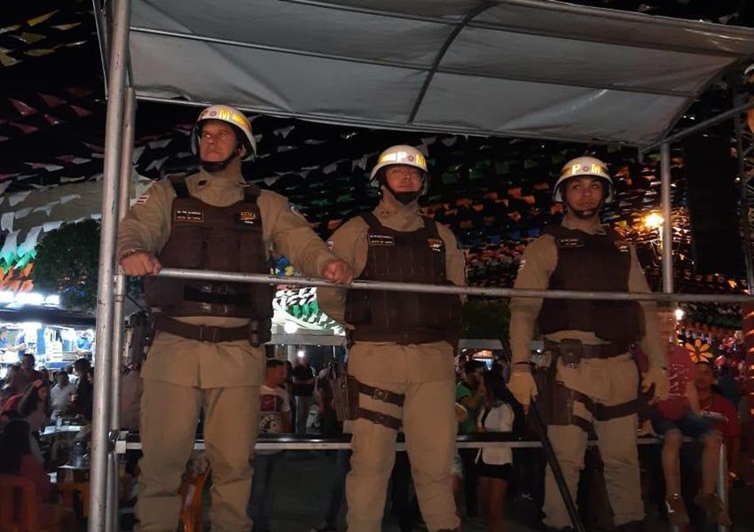 46ª CIPM: Festejos de São Pedro em Rio do Pires teve total segurança da Polícia Militar