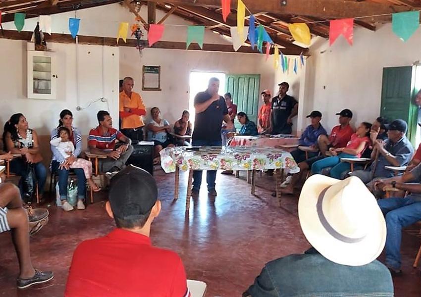 Livramento: Prefeito Ricardinho visita comunidades no interior do município