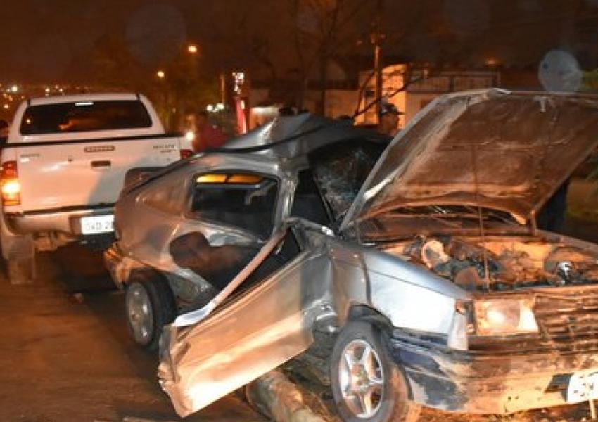 Conquista: batida entre carro e caminhonete deixa seis pessoas feridas