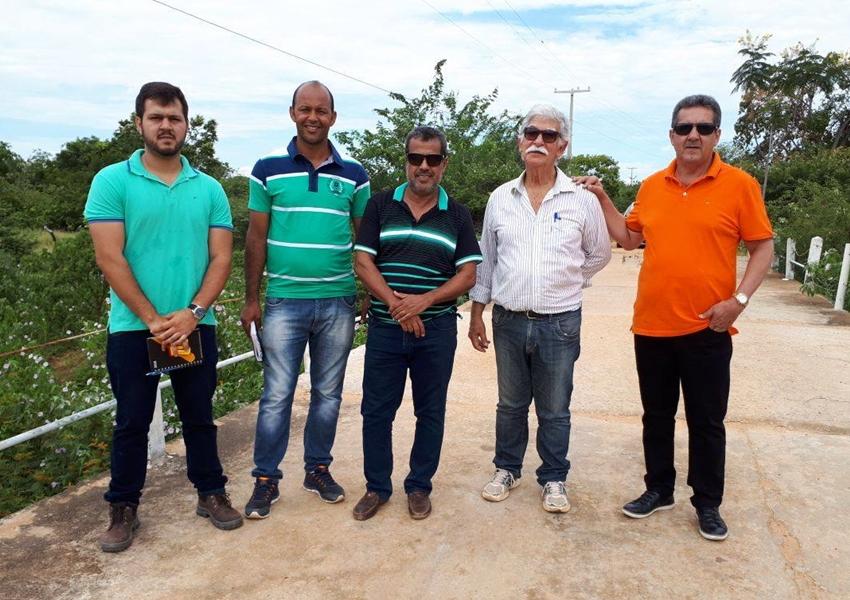 Prefeituras de Livramento e Brumado firmam parceria para reforma da ponte de Malhadinha