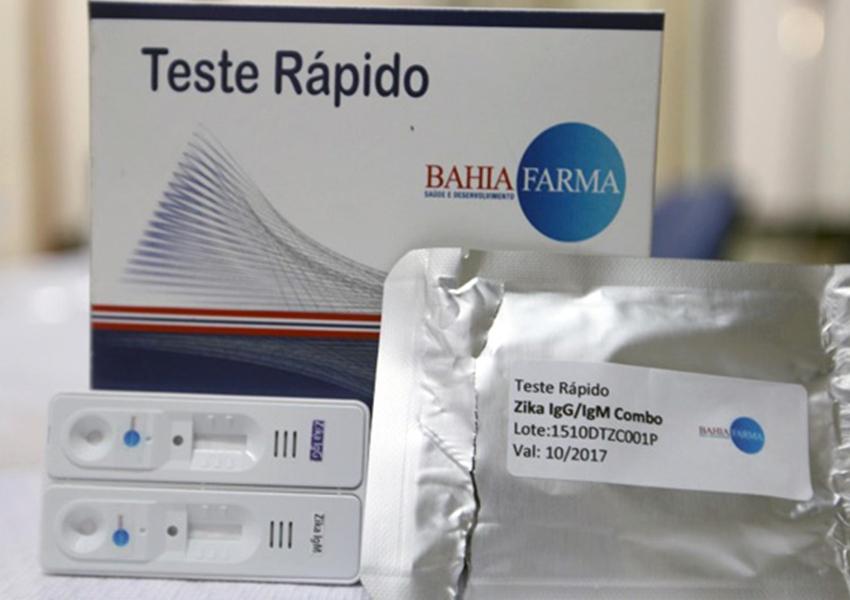 Primeiros testes rápidos da Bahiafarma para febre amarela custam R$ 3,2 milhões