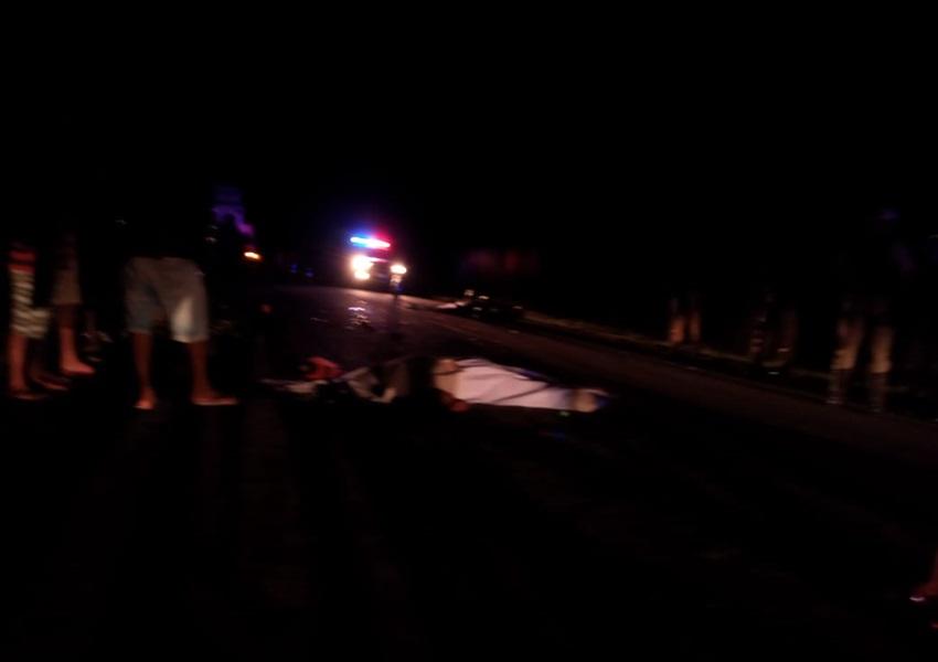 Colisão entre motos deixa dois mortos na BA-148 em Livramento de Nossa Senhora