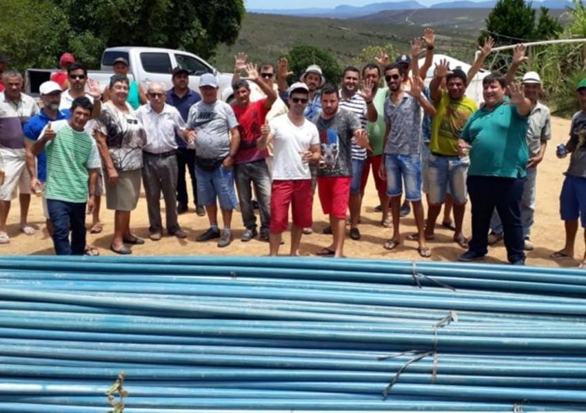 Barra da Estiva: Deputado Marquinho Viana e Dona Lúcia viabilizam construção de sistema de água na comunidade Saltador de Fraso
