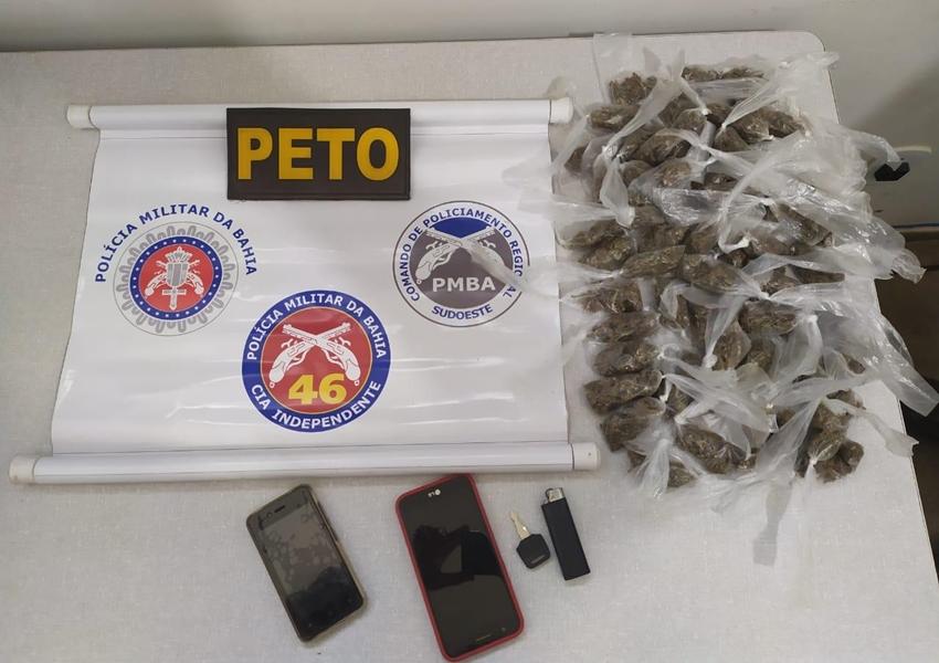 Trio é detido em Livramento acusado de tráfico de drogas e associação ao tráfico