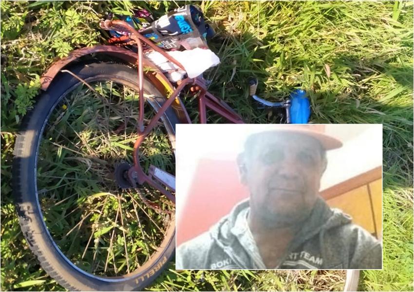 Paramirim: Ciclista que morreu atropelado estaria indo sacar auxílio emergencial