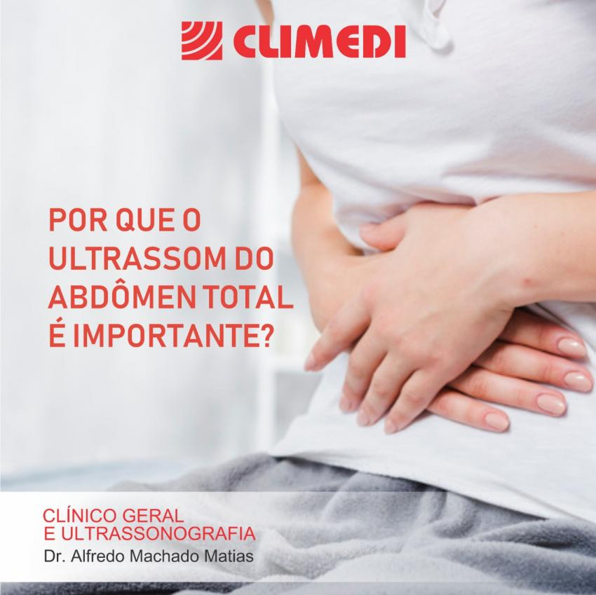 Clinico Geral e Ultrassonografista: Dr. Alfredo Machado Matias atendendo de Segunda a Sábado