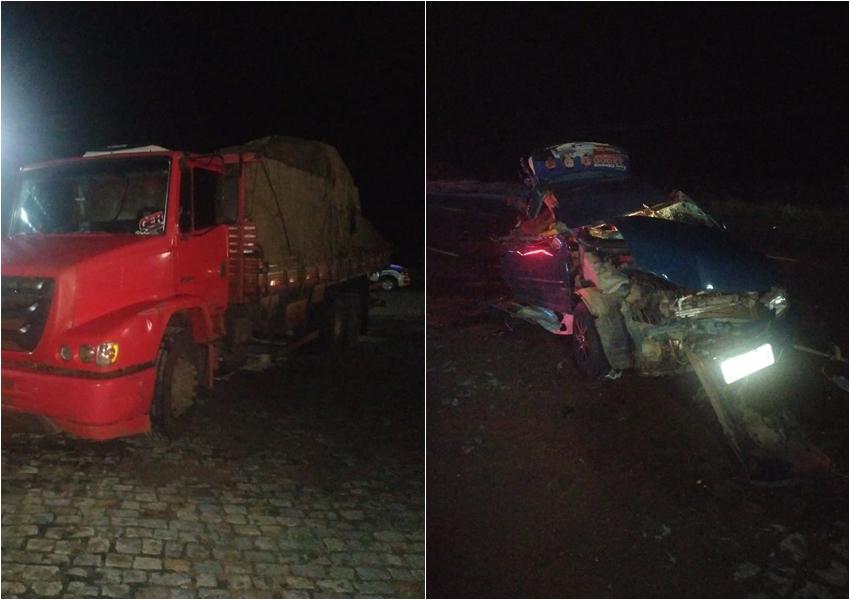Uma pessoa morre vitima de acidente de trânsito em Dom Basílio