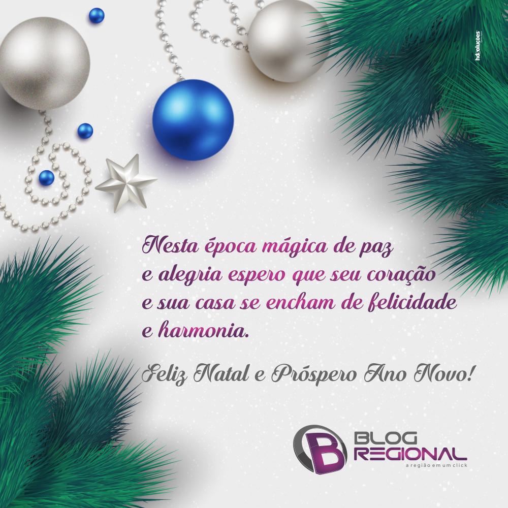 Feliz Natal e um Feliz Ano Novo a todos