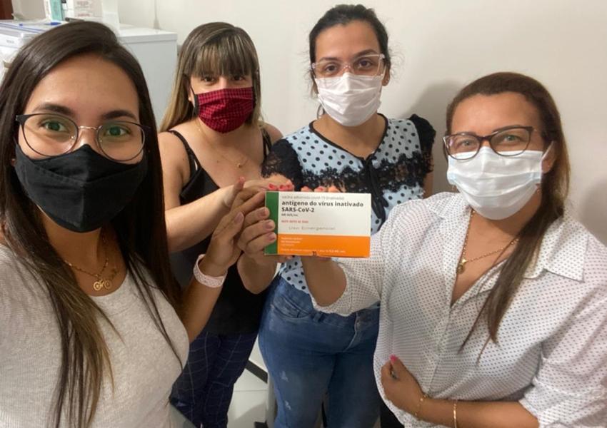Livramento recebe 273 doses da Vacina contra o Coronavírus