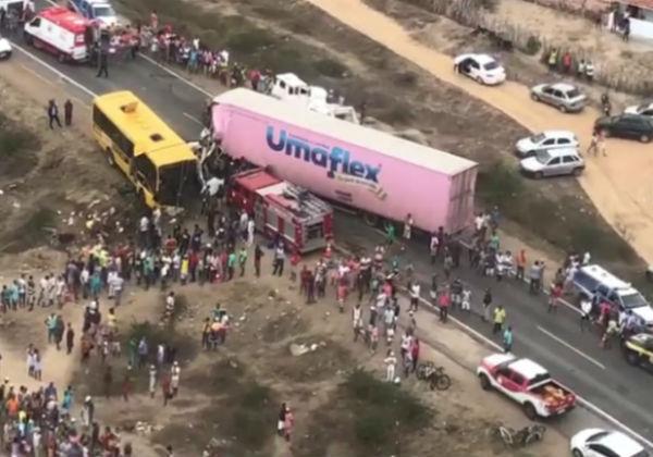 Santa Bárbara: Ultrapassagem pode ter causado acidente na BR-116