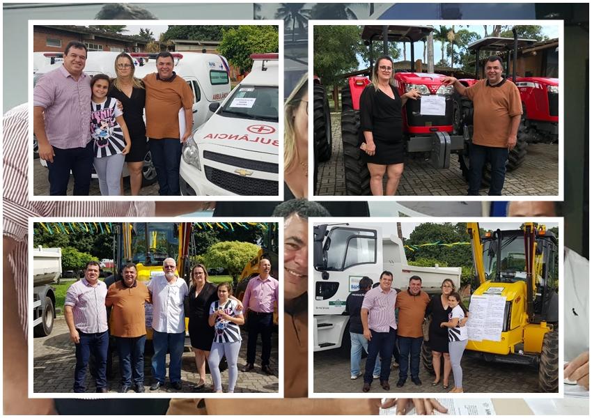 Governador Rui Costa entrega máquinas para Livramento de Nossa Senhora