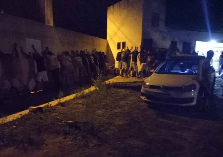 Livramento: Polícia Militar encerra festa com grande aglomeração de pessoas