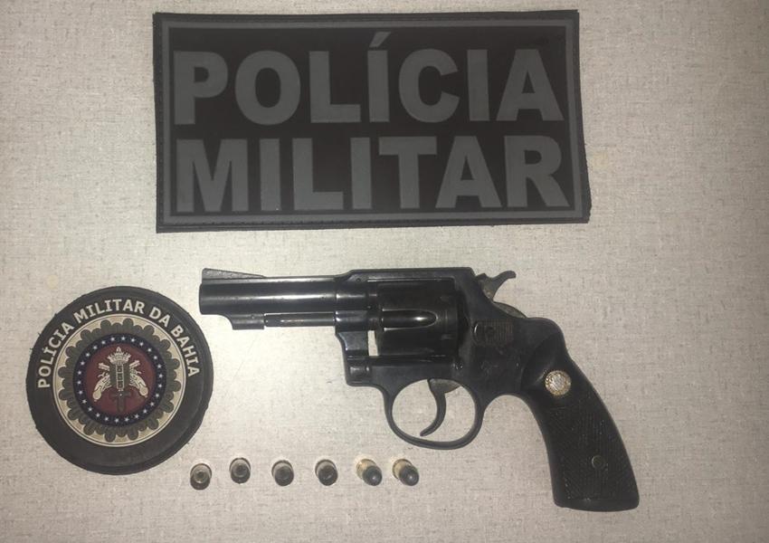 Livramento: homem é detido por porte ilegal de arma de fogo no distrito de Iguatemi