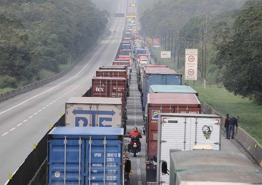 Transporte rodoviário tem novo piso mínimo de frete