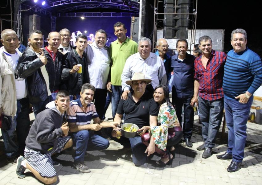 Livramento: Cidão Aracatu marca presença na inauguração da Praça de São Timóteo