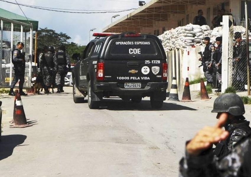 Conflitos em presídios deixam 40 mortos em Manaus