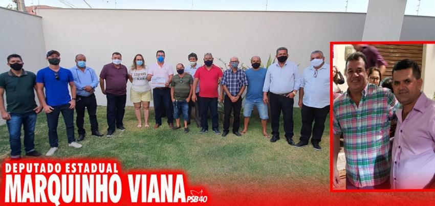 Livramento: Marquinho Viana anuncia implantação do sistema de abastecimento de água para Iguatemi