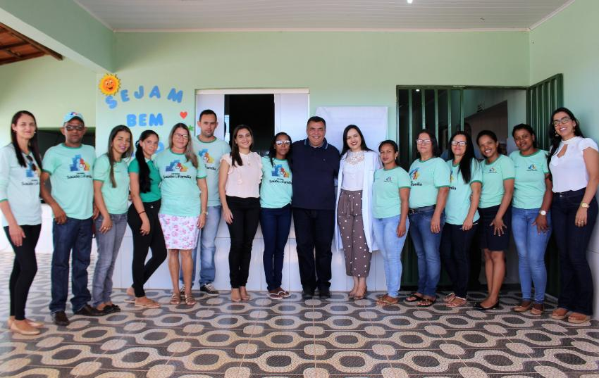 Posto Satélite dos Patos é entregue a comunidade