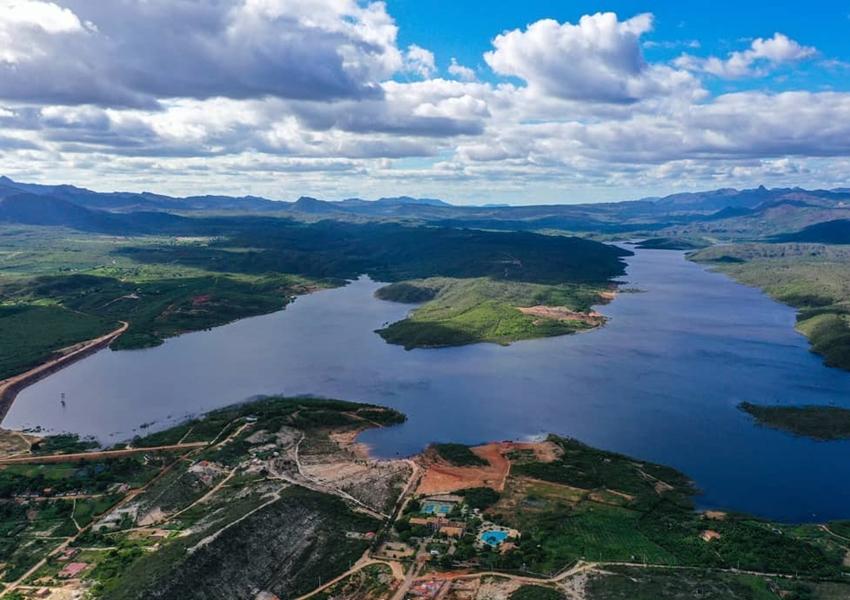 Rio de Contas: Barragem Luiz Vieira chega a 76,12% de sua capacidade