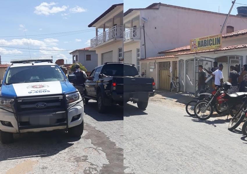 Dupla invade estabelecimento comercial em Livramento e rouba pertences de funcionários e clientes