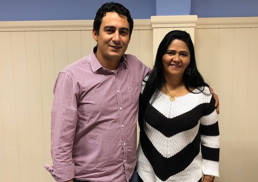 Brumado: Empresária Perinalva Dias declara apoio à pré-candidatura de Márcio Moreira