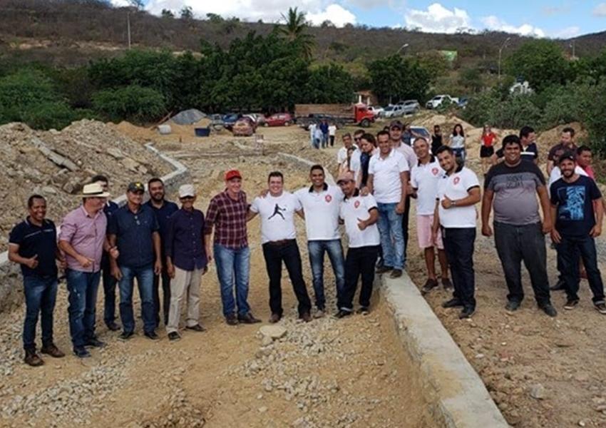 Deputado Marquinho Viana esteve com representantes políticos em Mirante