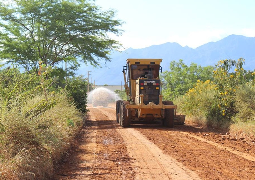 SEINF finaliza a recuperação da estrada que liga Taquari a Matinha